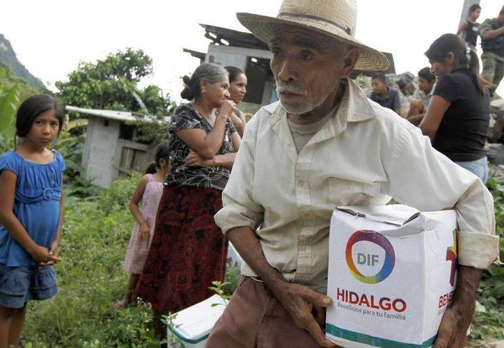 Existen brigadas médico-epidemiológicas en los 33 municipios con declaratoria de emergencia por las lluvias. (Notimex)