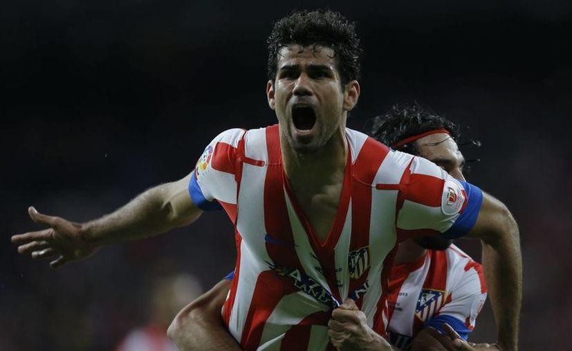 El Atlético alzó su décima copa. (Agencias)