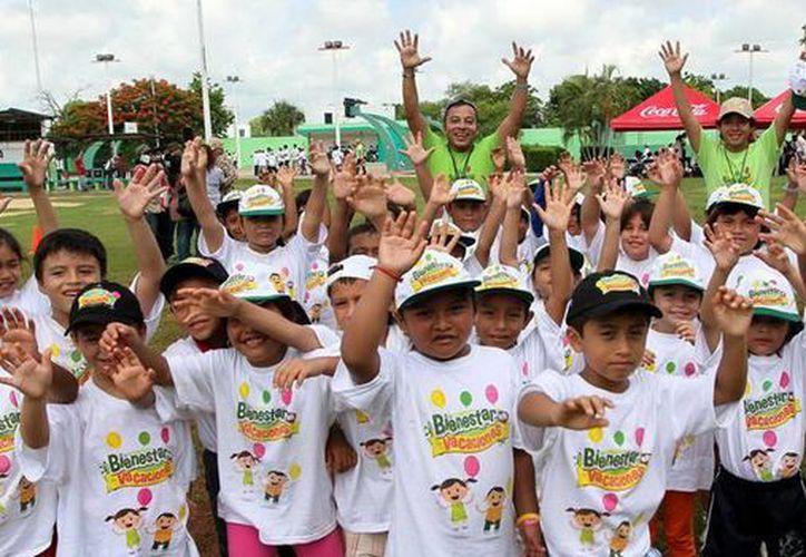 El próximo lunes comenzará el programa infantil Bienestar en Vacaciones enfocado a niños de seis a 13 años. (SIPSE)