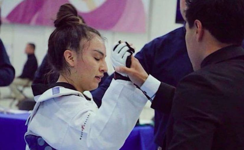 La joven era sub campeona de Taekwondo representante de Oaxaca.(Foto: Internet)