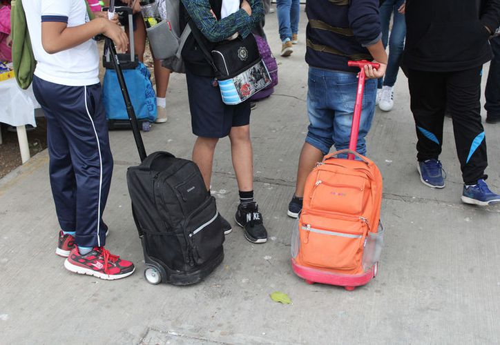Las víctimas fueron estudiantes de primaria, telesecundaria y uno de preescolar. (Foto: Joel Zamora)