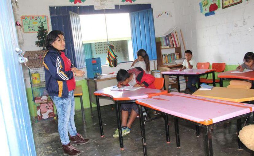 En el pasado ciclo escolar, atendieron a 150 menores. (Foto: Redacción/SIPSE)