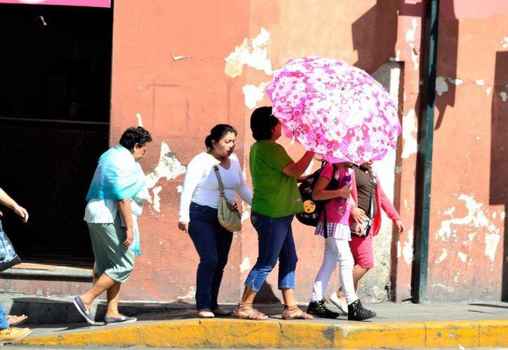La Conagua prevé que este domingo impere el calor con lluvias en Yucatán. (Daniel Sandoval/SIPSE)