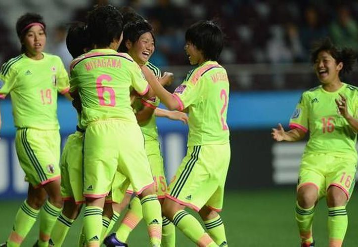 Las japonesa se mantuvieron invictas durante toda la Copa del Mundo de Futbol Femenil Sub 17 Costa Rica 2014. (futbolita.com)