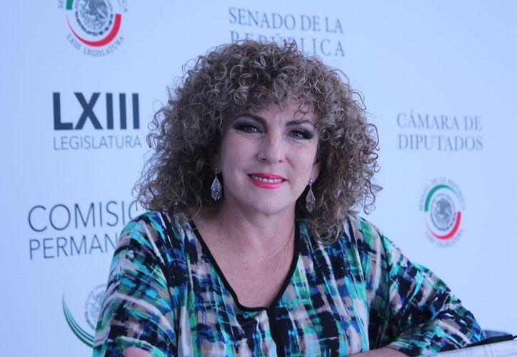 La senadora mencionó que es de suma importancia atender la sustentabilidad en la Península de Yucatán. (Redacción/SIPSE)