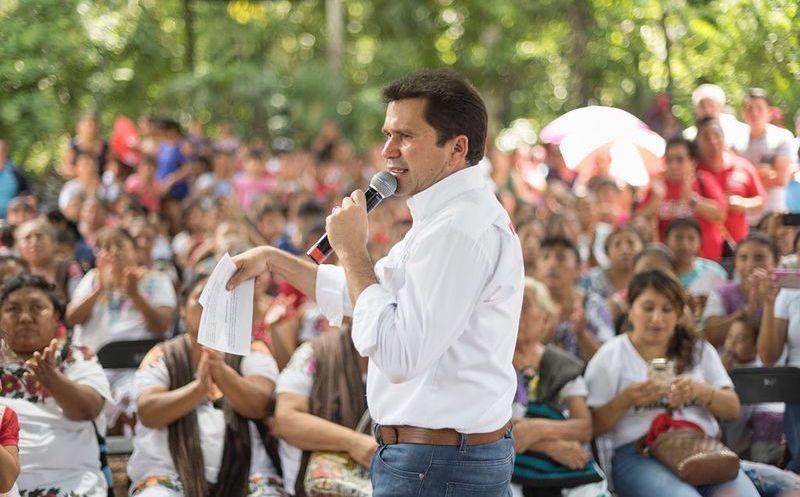 Mauricio Sahuí aseguró seguir trabajando por el bien de Yucatán. (Foto: Cortesía)