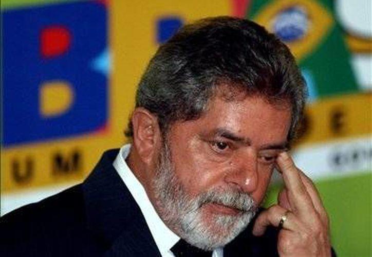 El ex presidente de Brasil,  Luiz Inacio Lula da Silvaniega cualquier irregularidad en la adquisición del departamento. (Archivo/EFE)