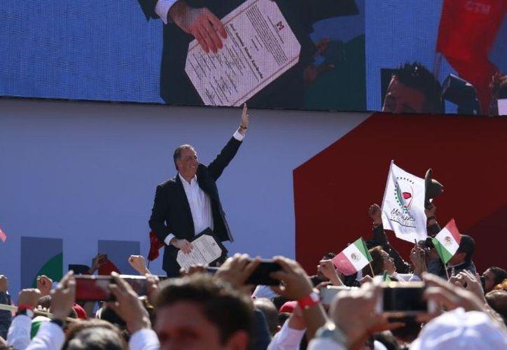 Meade reconoció que los comicios federales de mediados de año serán decisivos. (Twitter: Red jóvenes por México)