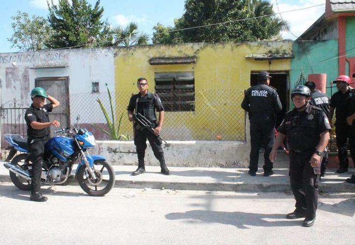 En el predio los agentes hallaron pasamontañas, entre otros objetos.  Los acusados fueron remitidos a la Agencia 24 del Ministerio Público en Motul. (Milenio Novedades)