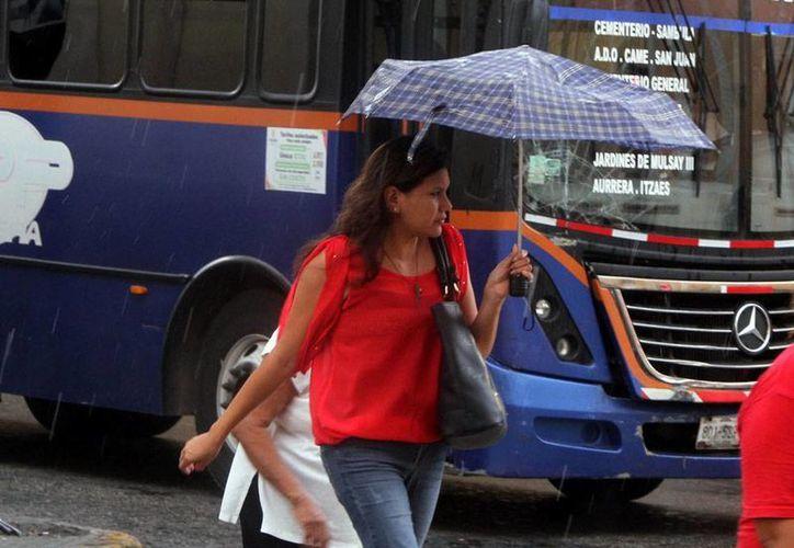 Se pronostican lluvias vespertinas para Yucatán esta tarde. Ayer lunes, un aguacero bañó el parte de la ciudad, principalmente el norte. (Jorge Acosta/Milenio Novedades)