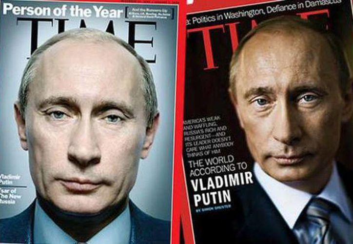 El presidente ruso superó a la rapera surcoreana CL, con la que anteriormente compartía el primer lugar, y se convirtió en el líder indiscutible del 'ranking' de los más influyentes del planeta. (@rentvchannel)