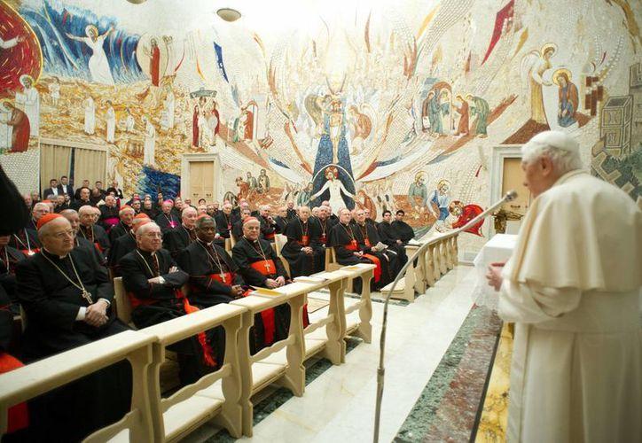 La renuncia del Pontífice se hará efectiva el 28 de febrero. (Agencias)