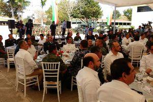 Celebración del Día del Ejército Mexicano en Yucatán