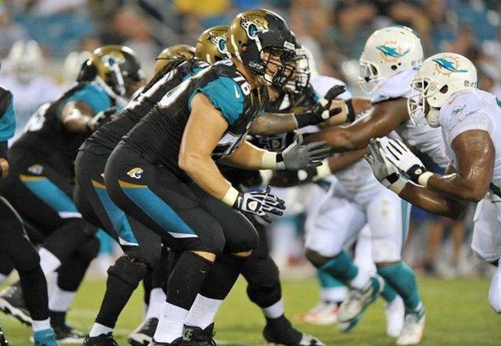 Jaguares de Jacksonville tiene completa su línea ofensiva para playoffs de la Liga Nacional de Fútbol Americano (NFL). (Contexto/Internet)