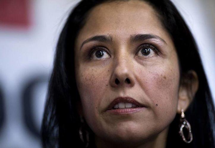 La primera dama peruana Nadine Heredia negó  la imputación por lavado de activos que hizo un fiscal en su contra. (AP)