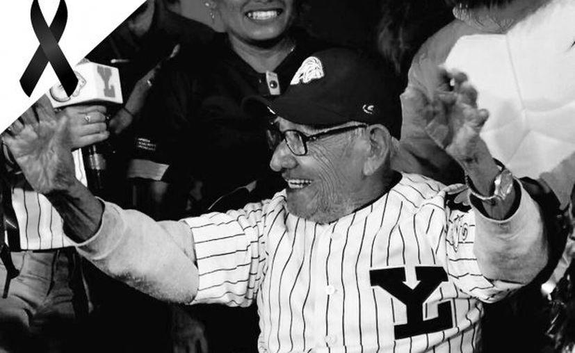 Don Liberato ya era un ícono del beisbol yucateco