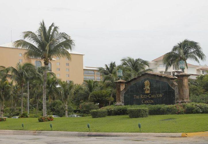 El simulacro se hará por la mañana en el hotel Ritz Carlton. (Israel Leal/SIPSE)