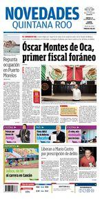 Óscar Montes de Oca, primer fiscal foráneo