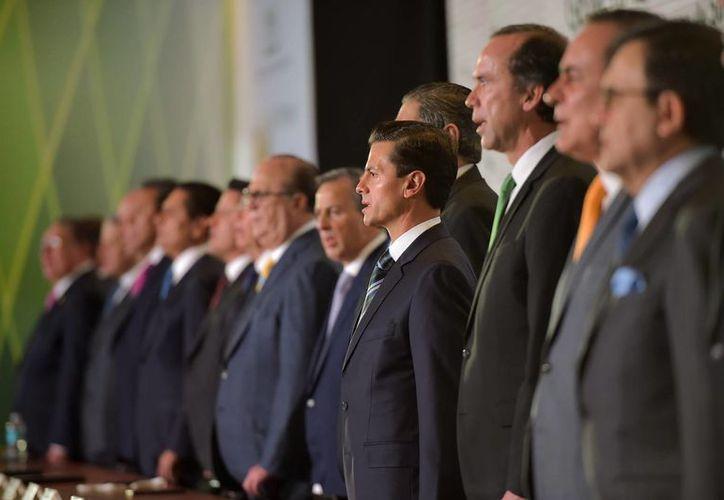 Peña Nieto asistió a la clausura de la XXXIII Asamblea General Ordinaria del Consejo Nacional Agropecuario. (Presidencia)