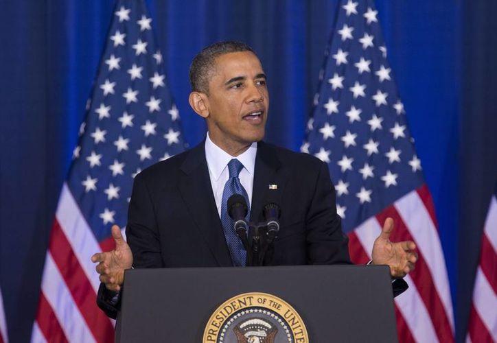 Un 59% de los estadunidenses se oponen al ataque a Siria que pide Obama. (Agencias)