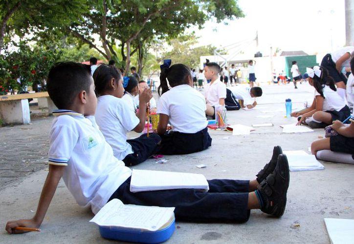 El nuevo modelo educativo comprende de dos secciones: materias obligatorias y flexibles o de autonomía curricular. (Paola Chiomante/ SIPSE)