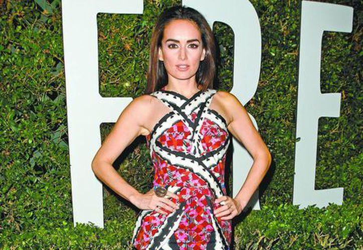 Ana de la Reguera es una celebridad mexicana que marca tendencia en la moda. (Milenio)