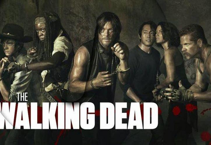 La sexta temporada de The walking dead se transmite todos los domingos a las 22.30 horas con repetición los lunes a las 22.00 horas. (Agencias/Archivo)