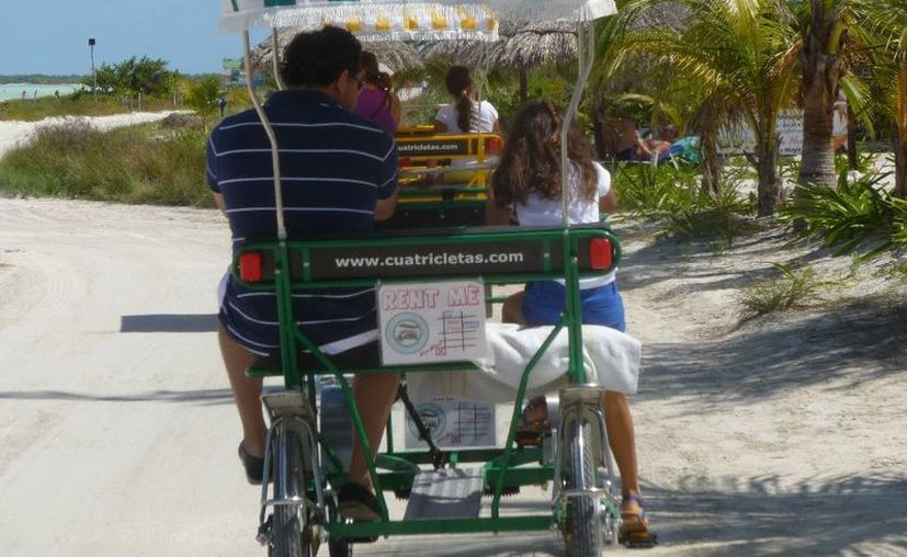 Este tipo de transporte no contamina el medio ambiente. (Raúl Balam/SIPSE)