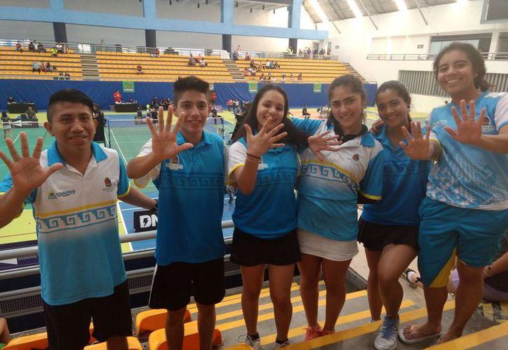 Los jóvenes se prepararán para la siguiente competencia que será en mayo en Chihuahua. (Raúl Caballero/SIPSE)