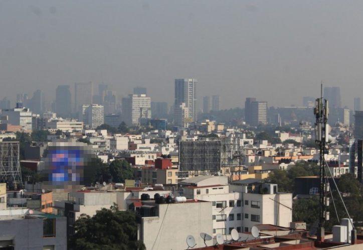 La mala calidad del aire predomina en la Ciudad de México. (Foto: Imagen tomada de /diablos.com.mx)