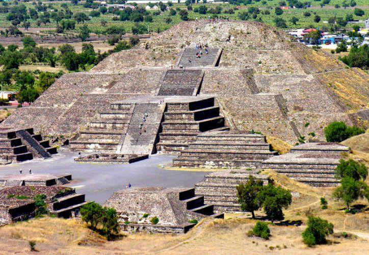 Teotihuacán habría sido residencia permanente de las élites mayas. (Internet)