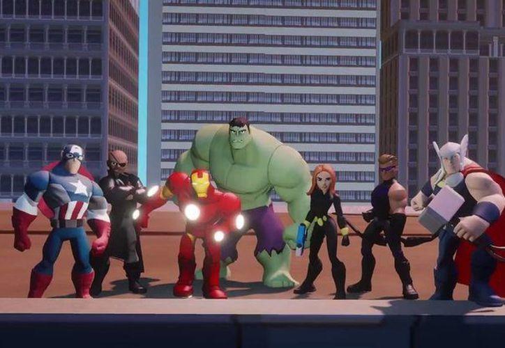 """Héroes y villanos de Marvel aparecerán en la nueva versión de """"Disney Infinity"""" (Tomada del sitio de internet disney.com)"""