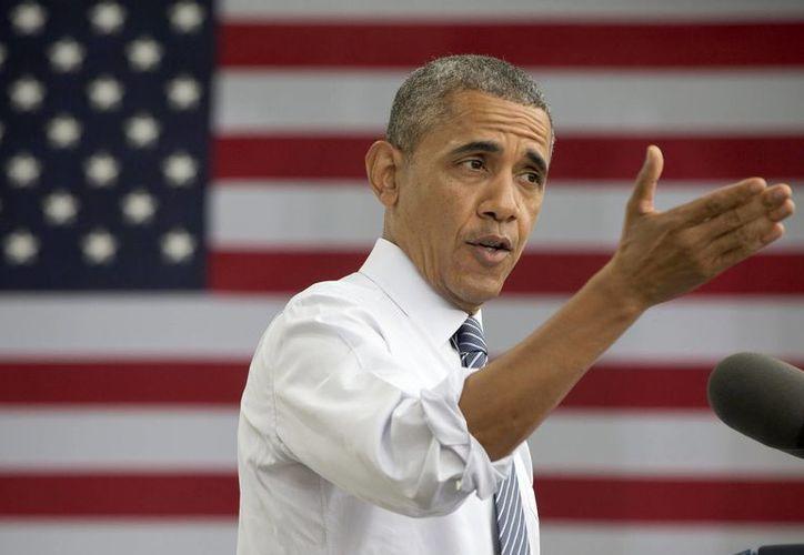 Obama planea discutir la crisis con líderes religiosos y locales durante una visita política de recaudación de fondos a Texas el miércoles. (Agencias)