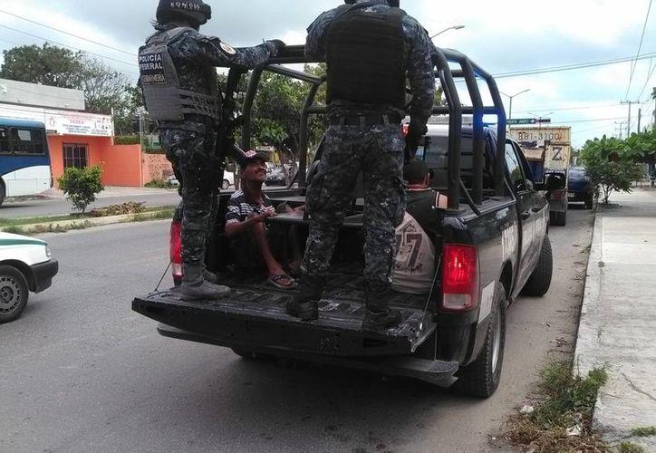 Los detenidos fueron puestos a disposición de las autoridades correspondientes. (Redacción/SIPSE)