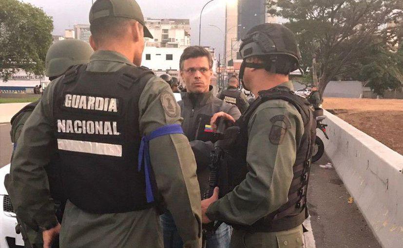 López agradeció al Gobierno de España por permitir recibirlo como huésped. (Foto: Twitter/@leopoldolopez)