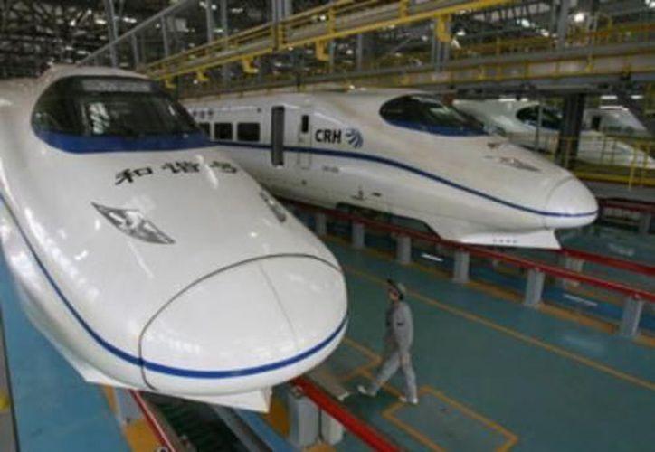 Los trenes entraron en servicio después de pasar una periodo de prueba de dos meses . (treneando.com)