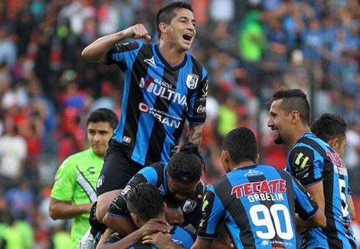 El Querétaro perdió 2-0 el partido de ida en el estadio Hidalgo de la bella airosa. Ahora debe remontar si quiere jugar la primera final de su historia. (AP)