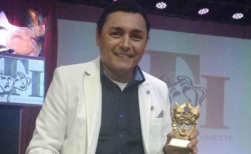 Carlos Martínez Correa viajó a Nueva York para estar en la celebración. (Redacción/SIPSE)