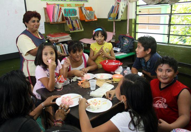 En 2013, se difundirá el programa Escuelas de Tiempo Completo. (Christian Ayala/SIPSE)