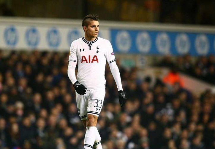 Eric Lamela puso adelante al Tottenham, que terminó por empatar en casa del Mónaco en partido de la fase de grupos de la Europa League. (kaisermagazine.com)