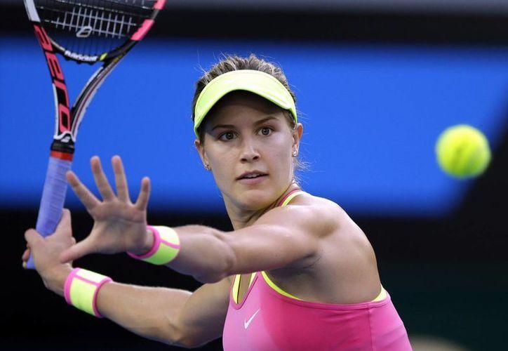 Eugenie Bouchard era una de las cartas fuertes para el Abierto de Monterrey, pero la francesa no podrá competir debido a una lesión. (sbs.com.au)
