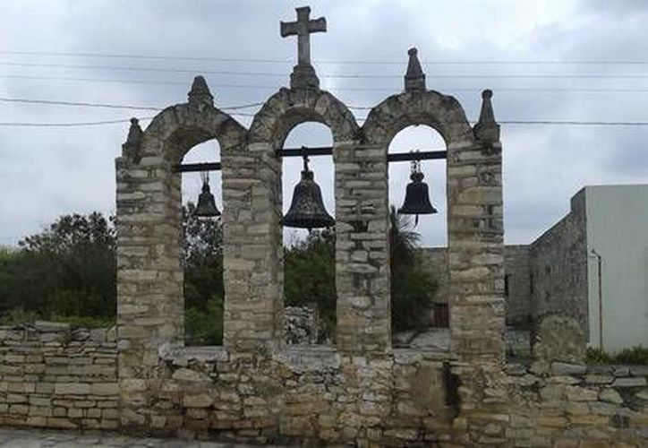 Santuario de San Carlos de Borromeo, a quien se le festeja en noviembre, en Vallecillo. (Milenio Digital)