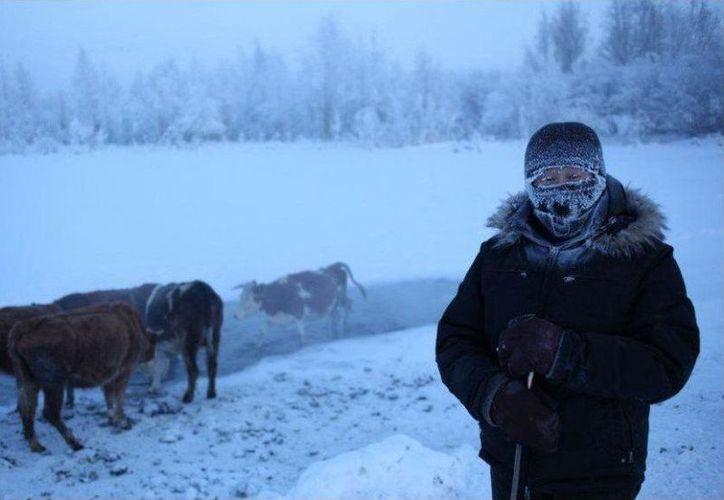 Las temperaturas se registraran por debajo de los 60 grados en Yakutia. (Foto: Екатерина)