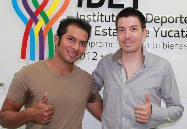 José Edmundo Robledo Gómez y José Miguel Luna Quintal tendrán a su cargo la formación de futuros talentos. (Milenio Novedades)