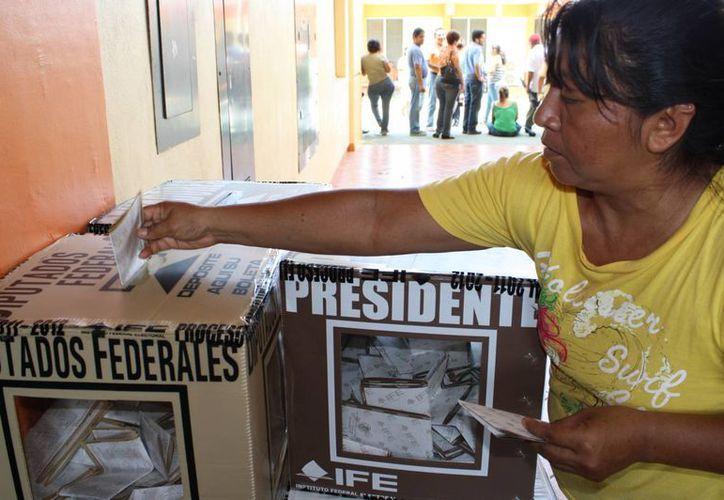 En las elecciones del 2010 sólo acudieron a votar 35 por ciento de los ciudadanos. (Archivo/SIPSE)