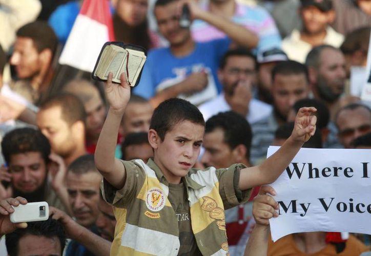 'Mursi tenía que irse', aseguran sus detractores. (Agencias)