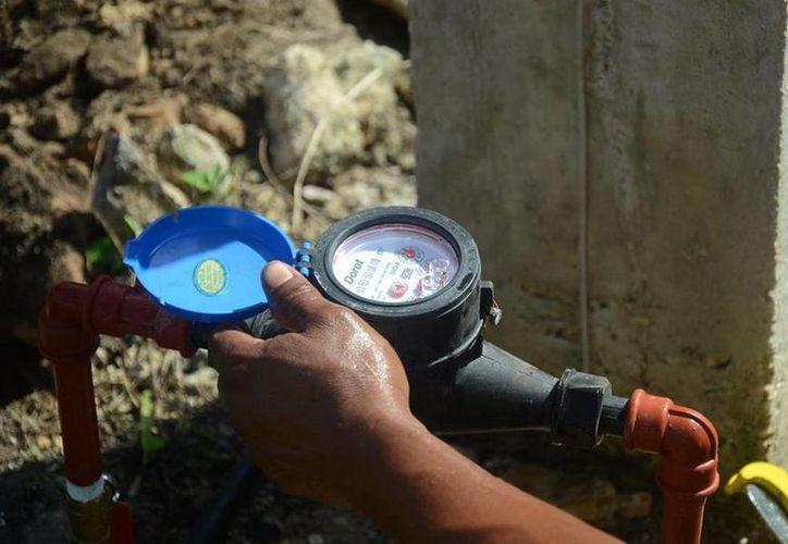 Se ejecutan las ampliaciones de los sistemas de agua potable y tomas domiciliarias. (Redacción/SIPSE)