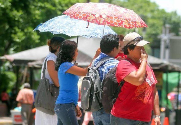 Mérida sufrió una máxima de 38.4 grados este martes. (Milenio Novedades)