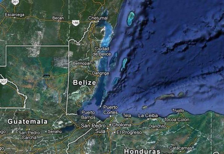 El movimiento se registró 329 kilómetros al sureste de Chetumal. (Redacción/SIPSE)