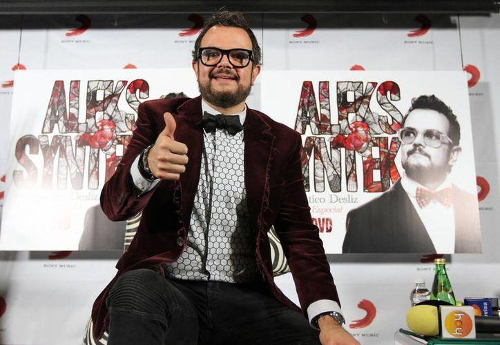 Aleks Syntek, oriundo de Yucatán, es uno de los artistas mexicanos que ha encontrado en el cine una plataforma para explorar más. (Foto de archivo de Notimex)